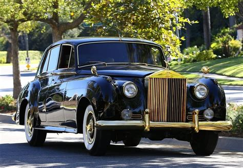 tyga takes his classic rolls royce to the shop zimbio