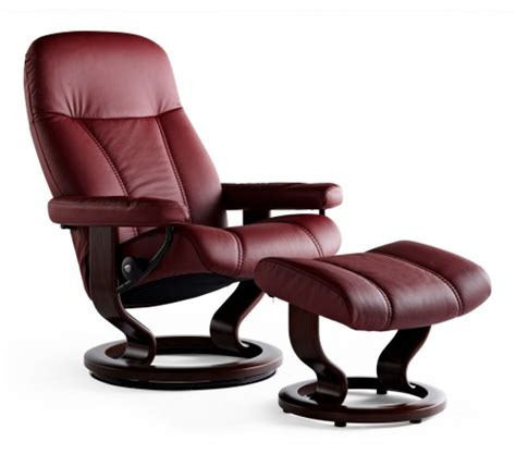 stressless recliner price stressless consul classic recliner ottoman from 1 595
