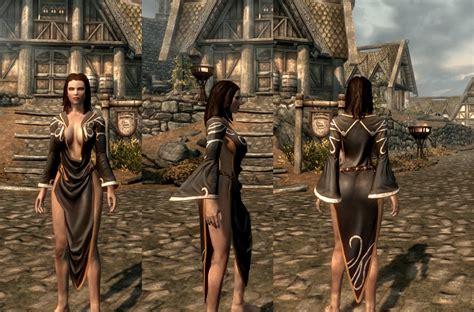 skyrim hot armor for female mod cbbe armor newhairstylesformen2014