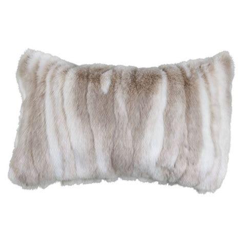 Faux Fur Pillow by Faux Fur Pillow 12x20 Arctic