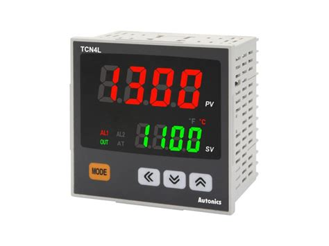 Autonics Temperature Controller Tcn4s 24r autonics tcn4l 24r temperature controller 1 4din dual