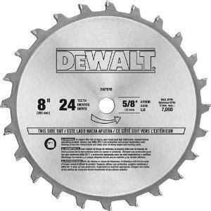 dewalt table saw dado blade dewalt 7670 8 quot dado blade wood magazine