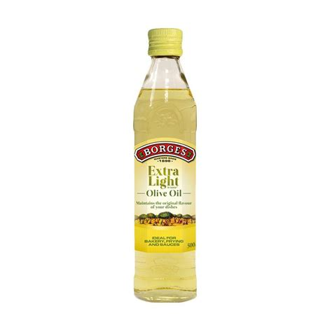 jual borges light olive minyak zaitun 500 ml