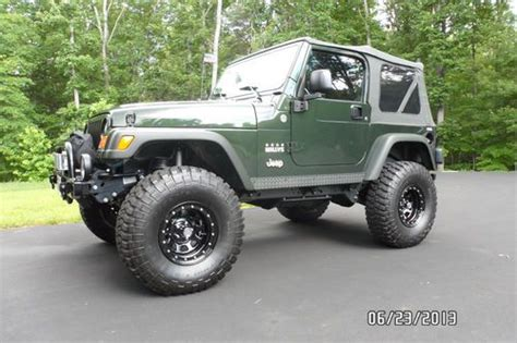 2005 Jeep Wrangler Willys Edition For Sale Purchase Used 2005 Jeep Wrangler Willys Edition In