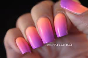 nuthin but a nail thing pastel neon gradient nail art