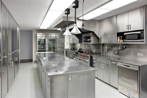 stainless steel kitchen design uncovering facts about metal kitchen cabinets my kitchen