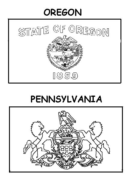 pennsylvania state symbols coloring page quotes