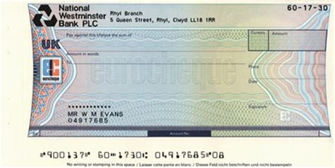 plc sort code eurocheques chequemate4collectors v1