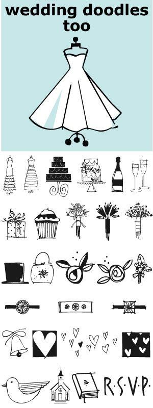 Wedding Font Doodles by Wedding Doodles Is The Follow Up Font To The Popular