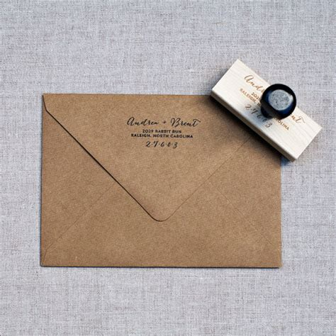custom rubber sts etsy items similar to return address st wedding address