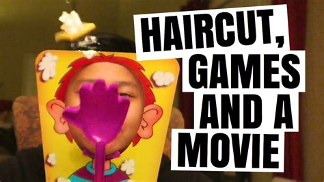 haircut games youtube haircut games and a movie day after christmas youtube