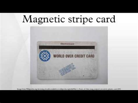 how to make a magnetic stripe card magnetic stripe card