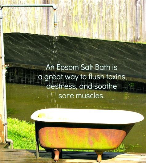 Heavy Metal Detox Epsom Salt Bath by Magnificent Magnesium Sulfate 14 Green Healthy Uses For