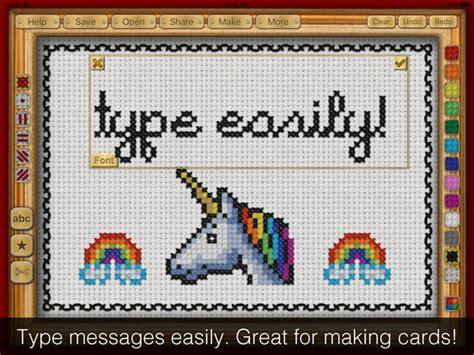 cross stitch pattern maker app app shopper cross stitch maker draw realistic embroidery