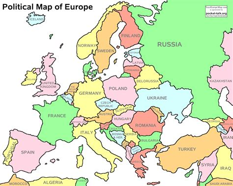a labeled map of europe europe political map of worldatlas within