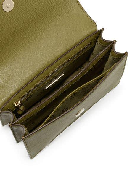 Ready Toryburch Backpack Croco Embossed Mini burch robinson crocodile embossed convertible shoulder bag olive neiman