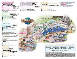 Map Of Universal Orlando by Universal Studio