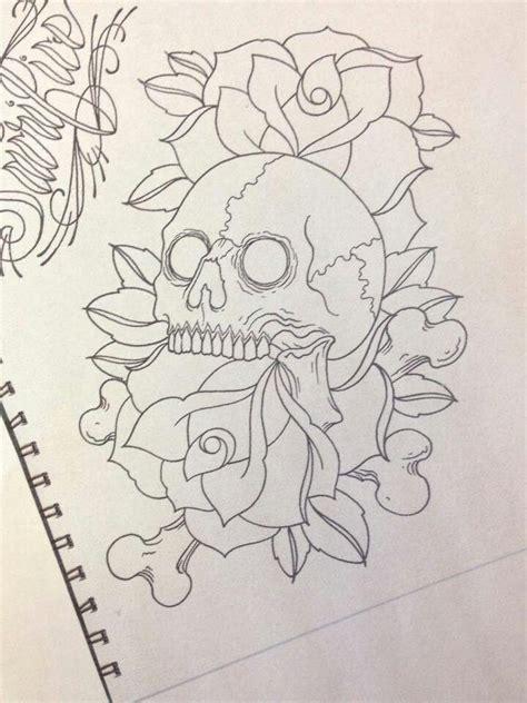 Tattoo Outlines Pinterest | outline skull tattoo pinterest