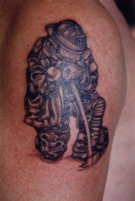 firefighting tattoos firefighter images designs