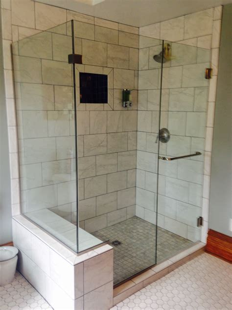 Glass Shower Door Vs Shower Curtain Omni Glass Paint Used Glass Shower Doors