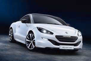 Peugeot Rcz Gt Peugeot Rcz Gt Line Revealed With Sportier Look For Basic