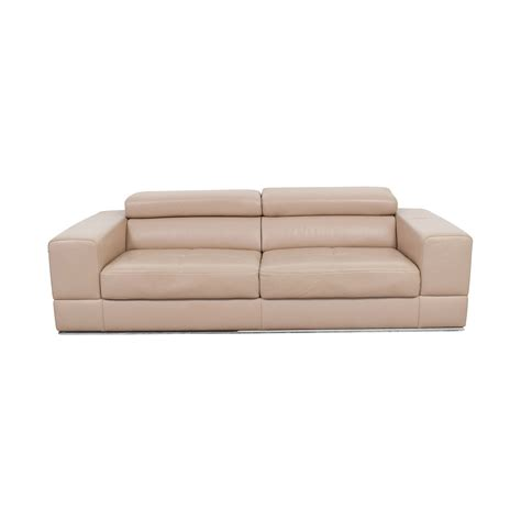 beige leather sectional beige leather sectional sofa dreamfurniture 2516b beige
