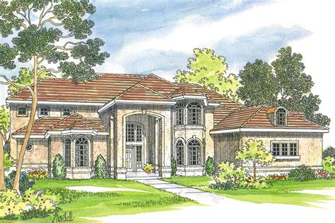 Mediterranean House Plan by Mediterranean House Plans Lucardo 30 181 Associated