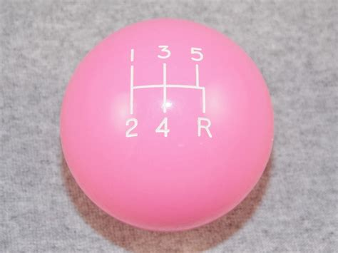 Pink Shift Knob by Pink 5 Spd Shift Knob