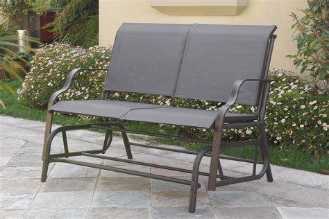metal porch bench metal porch bench glider home design ideas building