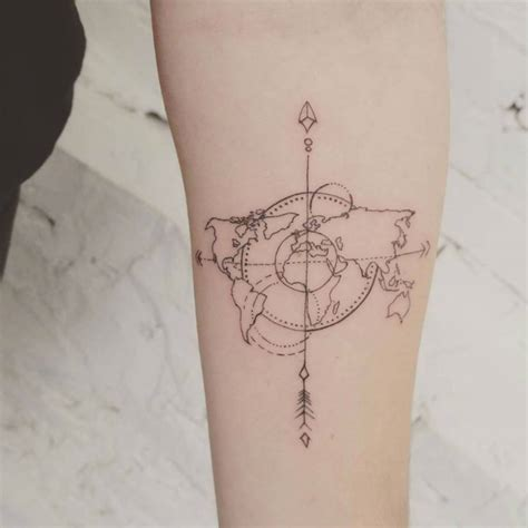 travel tattoo ideas beautiful travel tattoos design and ideas tattoosera