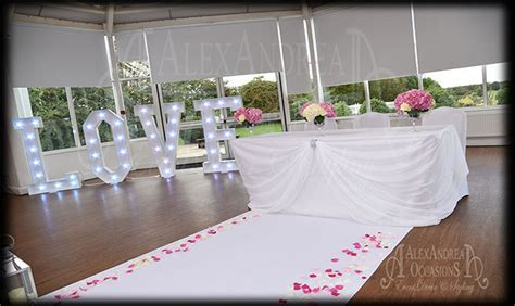 Wedding Decoration Hire in London Hertfordshire Essex
