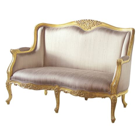 Bedroom Sofa Versailles Gold Bedroom Sofa With Silk Upholstery