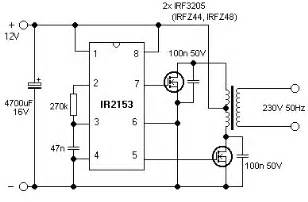 irf3205 application circuit diagrams power mosfet hqew net
