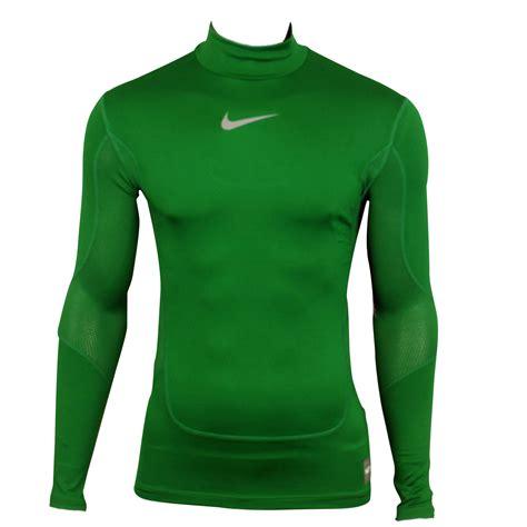 Baseslayer Nike Procombat Shirtsleeve mens nike pro combat hyperwarm sleeve top sports compression baselayer ebay