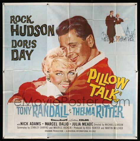Pillow Talk Hours by Emovieposter 3g337 Pillow Talk 6sh 59 Bachelor Rock