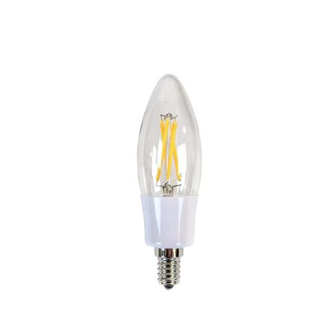 candelabra led bulbs newhouse lighting 40w equivalent incandescent b10