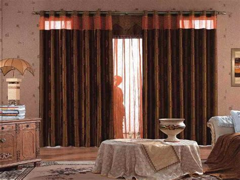 living room with brown curtains blue and brown living room curtains modern house
