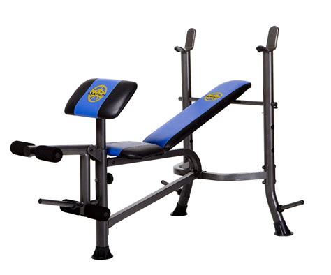 marcy workout bench strength training