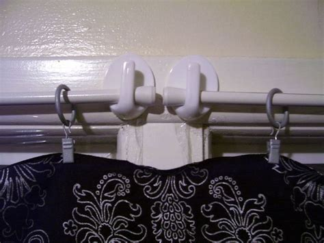 curtain rod no holes 37 rv hacks that will make you a happy cer