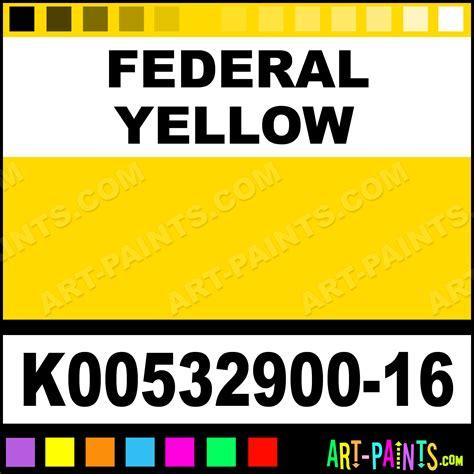federal yellow industrial alkyd enamel paints k00532900 16 federal yellow paint federal