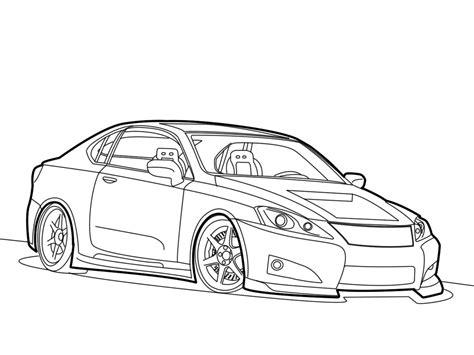 lexus is300 drawing lexus is350 sketch line by vtwizzardofoz on deviantart