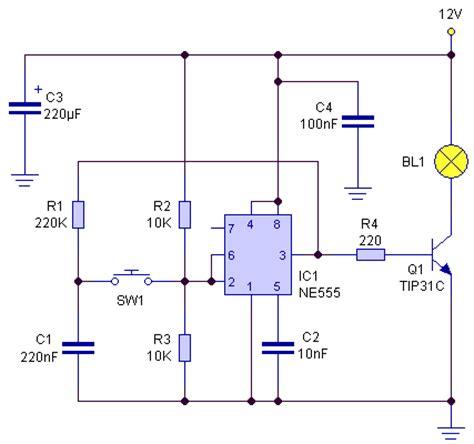 membuat jam digital dengan ic 555 led dengan ic ne555