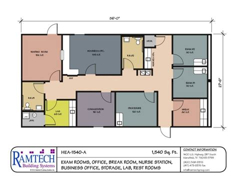 clinic floor plan modular building floor plans healthcare clinics offices