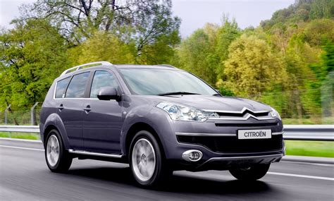 Citroen C Crosser by Citro 235 N C Crosser Estate Review 2007 2012 Parkers