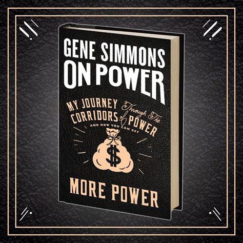 quot on power quot il nuovo libro scritto da gene simmons dei