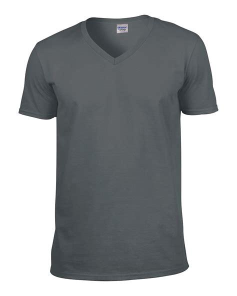 V Neck Plain T Shirt gildan softstyle s v neck cotton t shirt sleeve