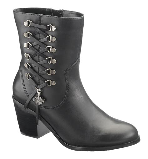 harley davidson womans boots 84439 harley davidson 174 womens alanis black low cut boot