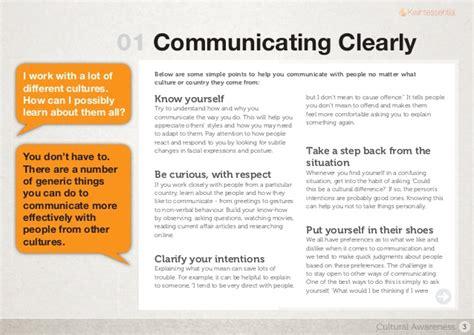 Cultural Awareness Essay by Cross Cultural Communication Essay
