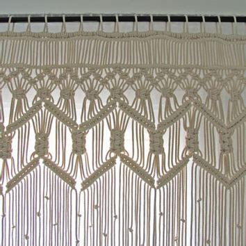 Macrame Door Curtain » Home Design 2017