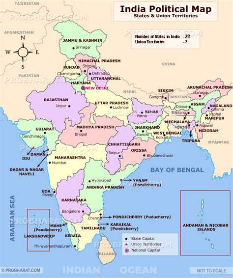 india political map images neighbouring countries of india and their capitals k k